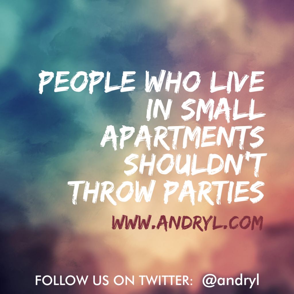 First World Wisdom: Small Apartments