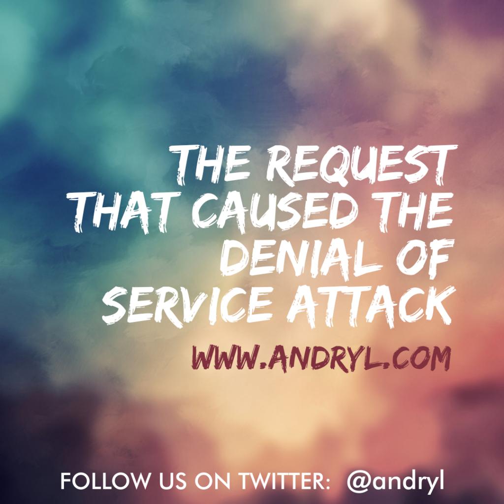 First World Wisdom: Denial of Service